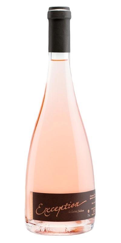 Château Saint Julien - Exception - Rosé wine