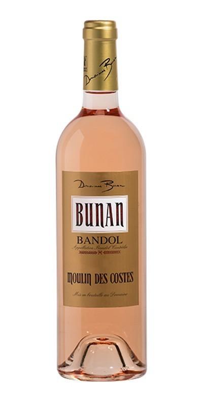 Domaines Bunan - Moulin des Costes - Vin rosé