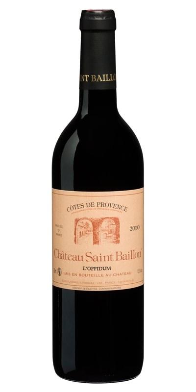 Château Saint Baillon - L'Oppidum - Red wine