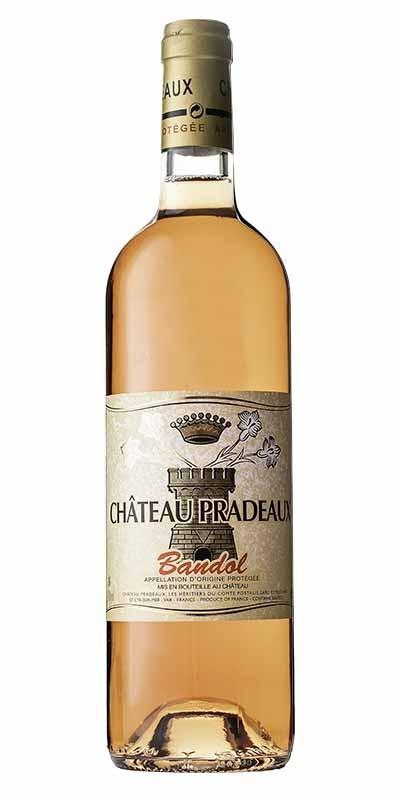Château Pradeaux - Rosé wine