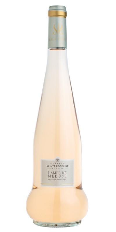 Château Sainte Roseline - Lampe de Méduse - vin rosé