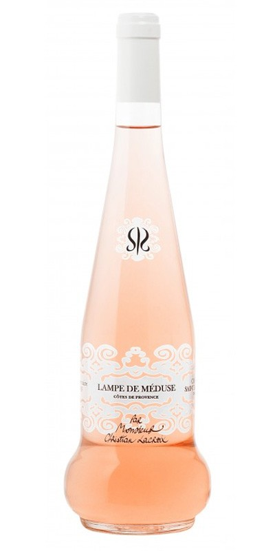 Château Sainte Roseline - Lampe de Méduse - Edition Christian Lacroix - Rosé wine