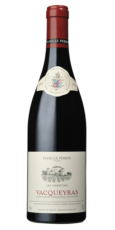 Famille Perrin - Vacqueyras - Les Christins - Red wine