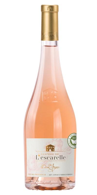 Château de l'Escarelle - Les Deux Anges - Rosé wine