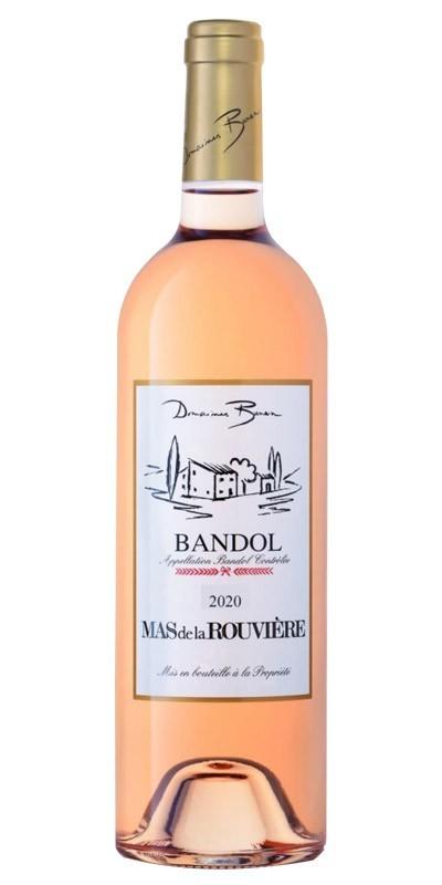 Domaines Bunan - Mas de la Rouvière - Rosé wine