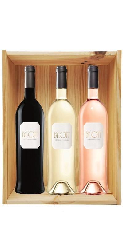 Coffret cadeau bois vin Provence By Ott